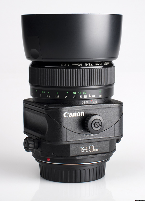 A photo of a Canon Tilt-Shift Lens