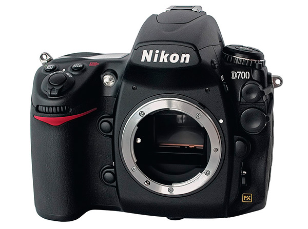 A Nikon D700 is an example of a minimum viable camera