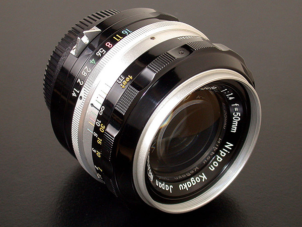 A fine example of vintage Nikon manual-focus lens