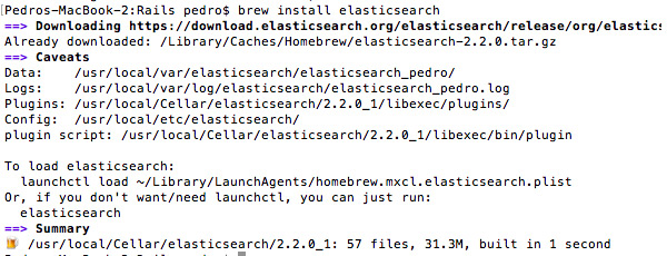 Elasticsearch folders