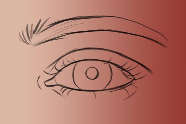 Base de ojo