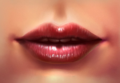 how to draw realistic lips for beginners