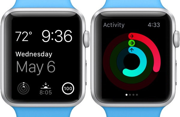 Tracking activity on the Apple Watch