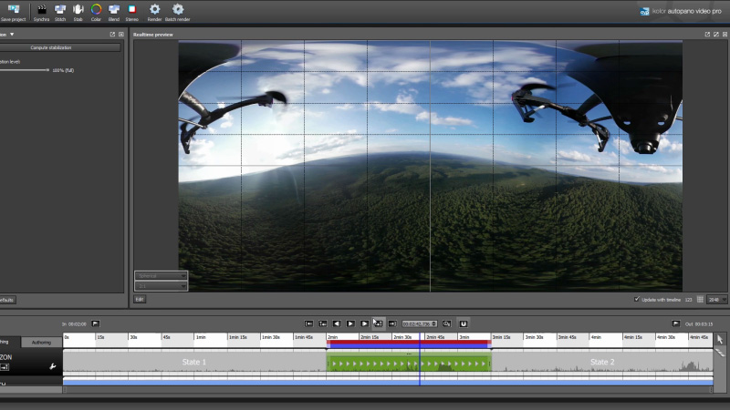How to Stabilize 360 Video With Autopano Video Pro