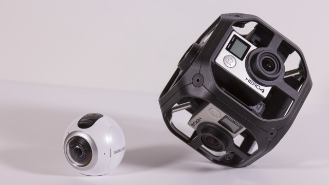 How to Record 360 Video With a Multi-Camera Rig