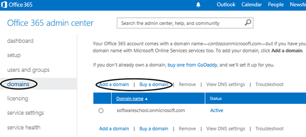 Setup Your Company Email with Office 365 Hosted Exchange