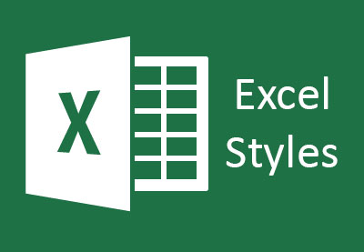 Excel styles preview