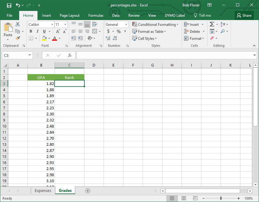 How to Calculate Percentages in Excel With Formulas – Calculating Percentages Worksheet