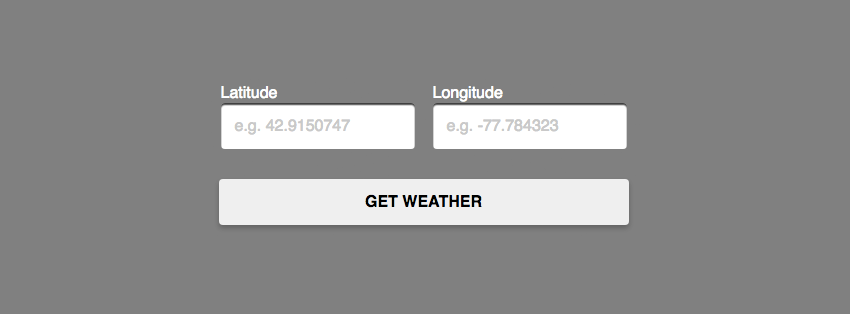 Building a Weather App With the DarkSky API