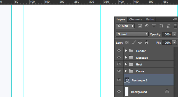Designing a Christmas Email Newsletter in Photoshop
