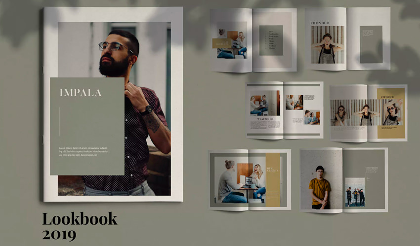 IMPALA - InDesign Brochure Template