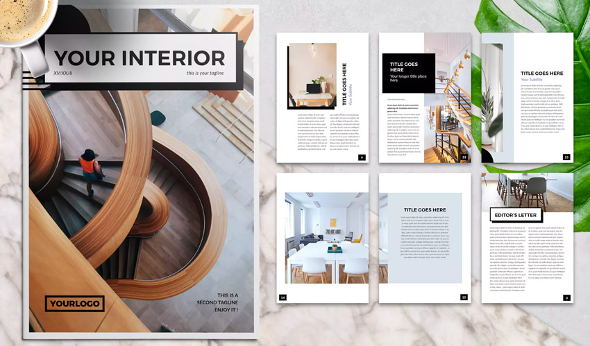 30 Best InDesign Brochure Templates - Creative Business Marketing