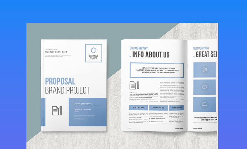 Easy-to-Customize Business Project Proposal Template