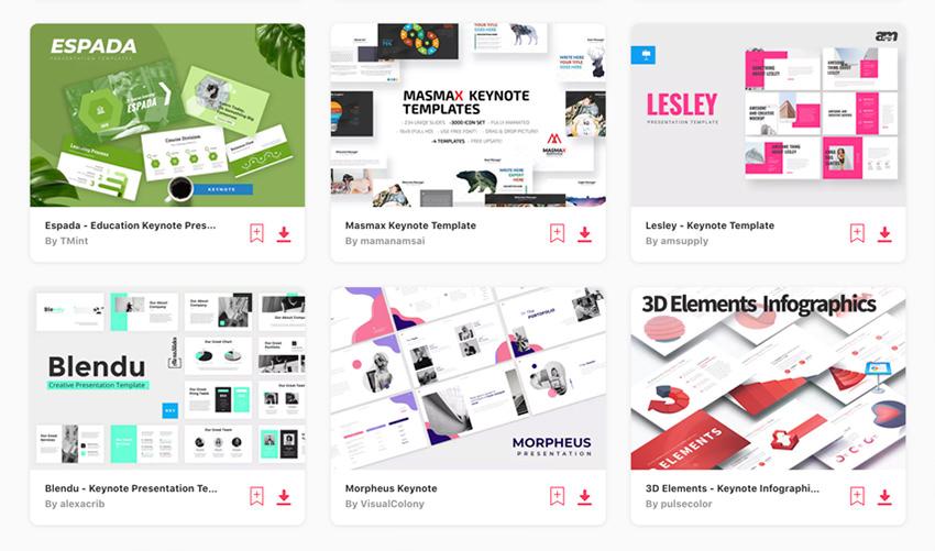 30 Best Free Keynote Presentation Templates Designs
