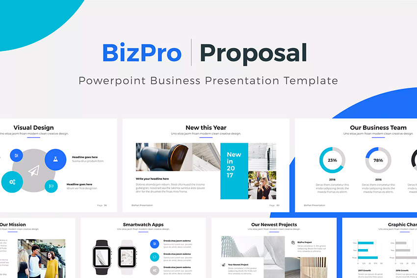 BizPro PowerPoint Proposal Template