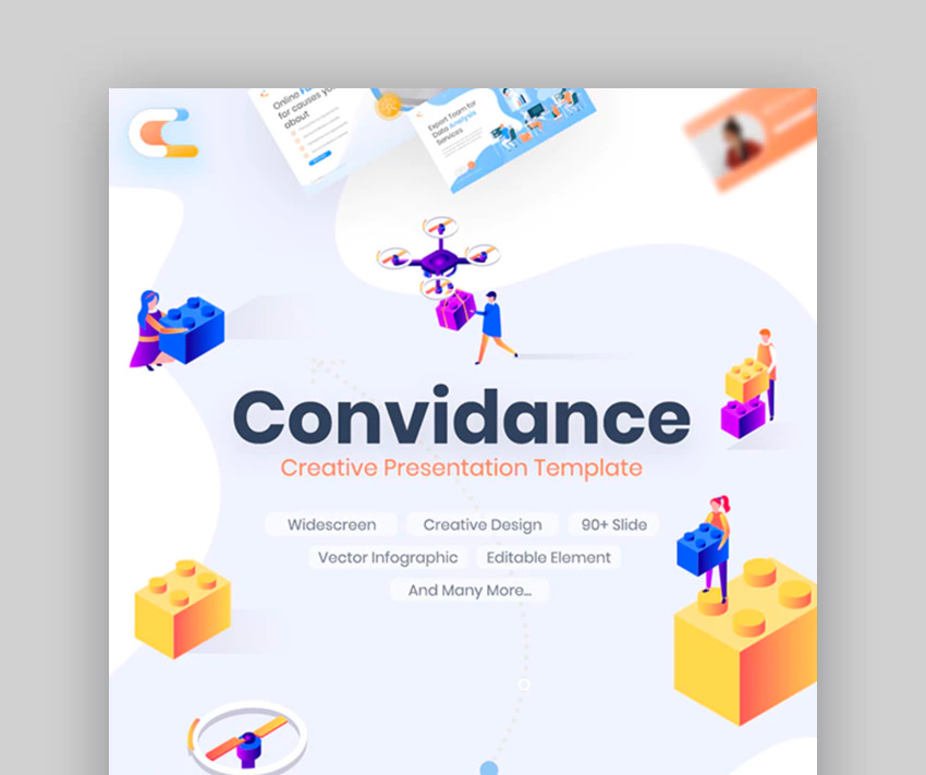 Convidance Creative Keynote Template