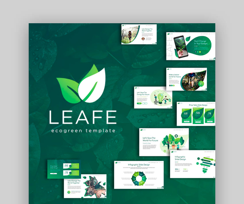 Leafe Ecogreen Keynote Template