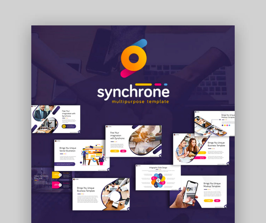 Synchrone Multipurpose Keynote Template