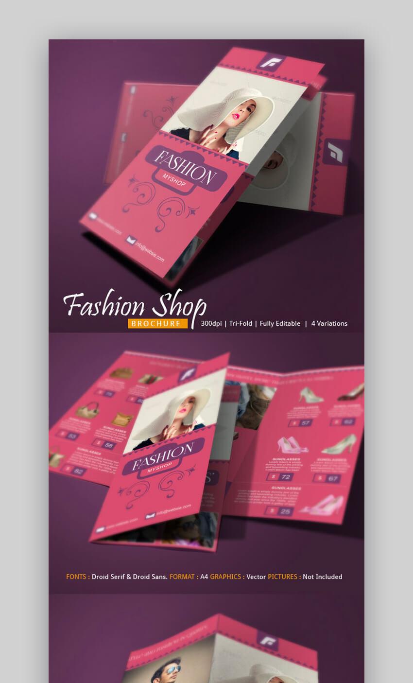 Fashion Brochure Template