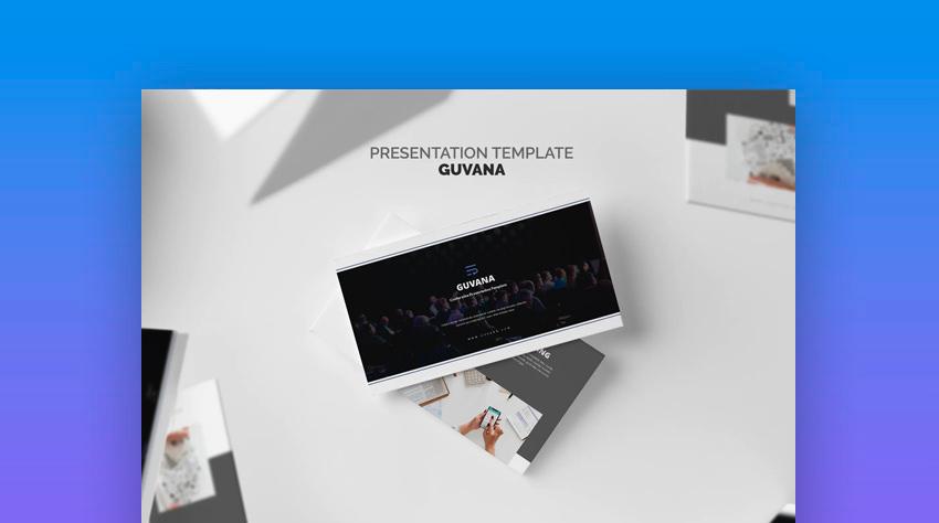 Guvana Event Seminar Conference PowerPoint