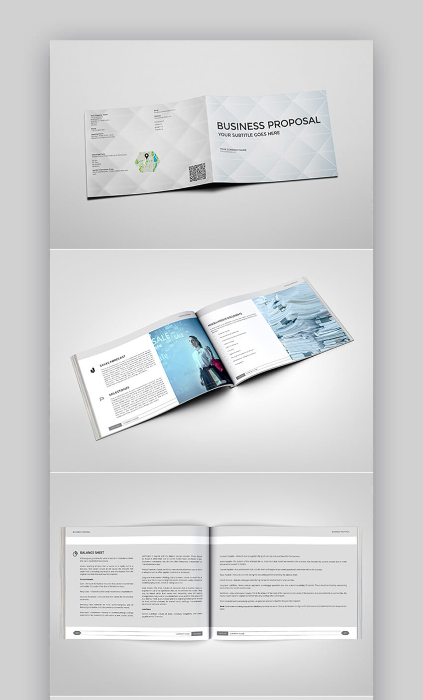 Simple and Minimal Proposal Template