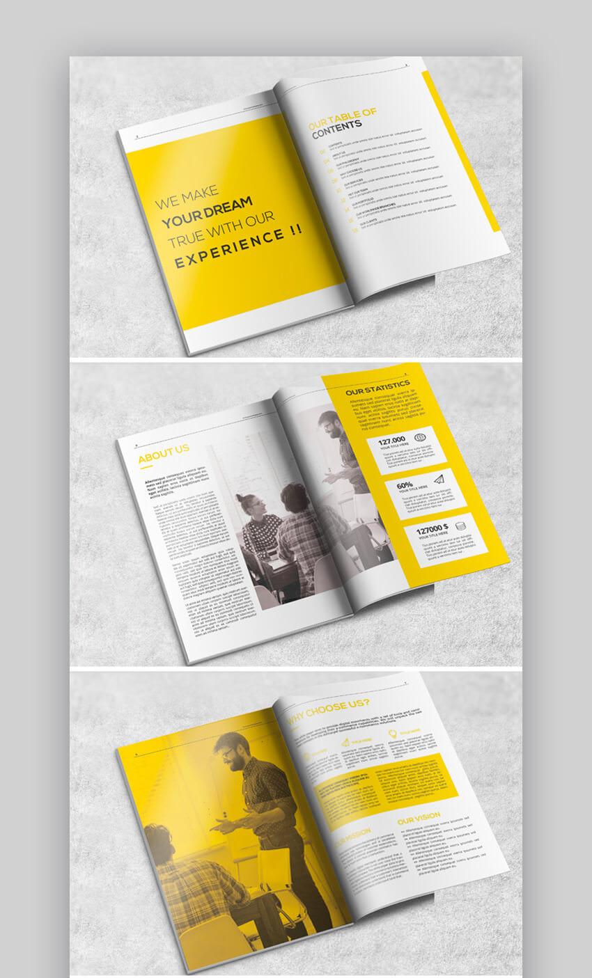 Stylish Proposal Brochure Design