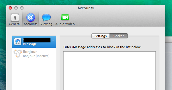 How to Block iMessage Senders in Messages on OS X