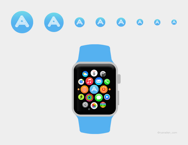 Apple Watch App Icon Template