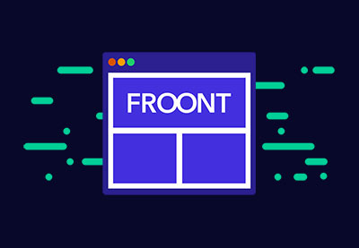 Website with froont 400x277