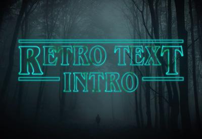 Retro text 400x277