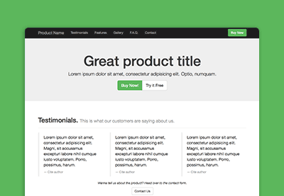 Preview for Bootstrap 3 for Web Design