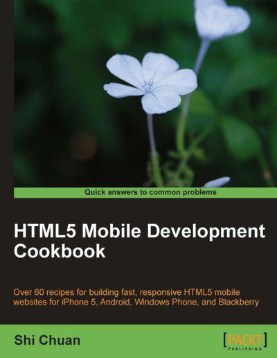 Preview for HTML5 Mobile Development Cookbook