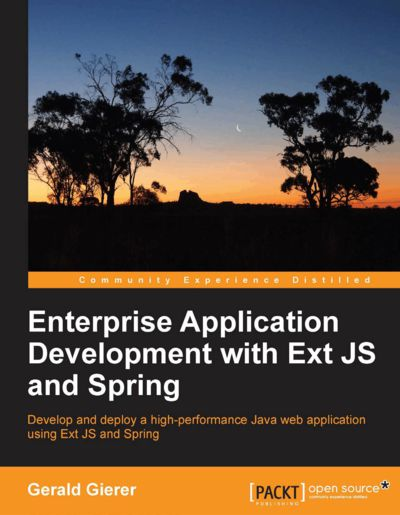 Preview for Enterprise Application Development with Ext JS and Spring
