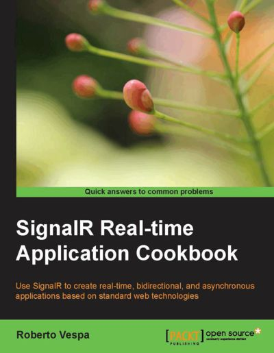 Preview for SignalR Real-time Application Cookbook