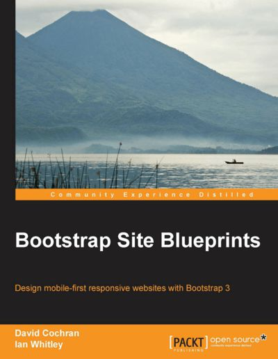 Preview for Bootstrap Site Blueprints