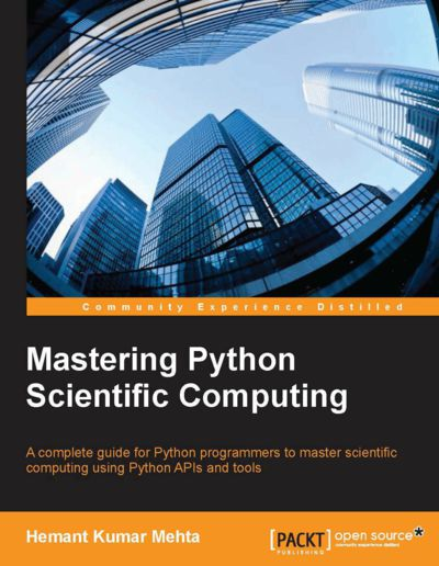 Preview for Mastering Python Scientific Computing