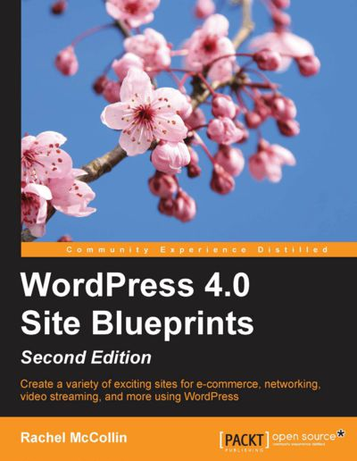 Preview for WordPress 4.0 Site Blueprints - Second Edition