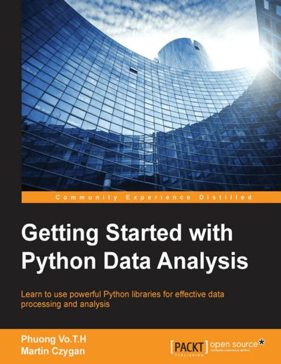 Preview for Getting Started with Python Data Analysis