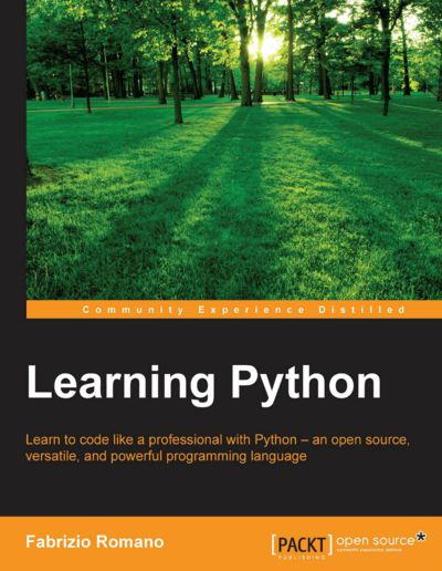 Preview for Learning Python