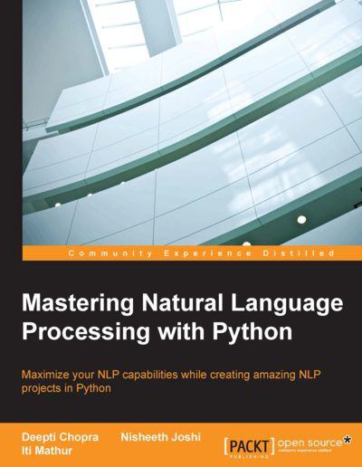 Preview for Mastering Natural Language Processing with Python