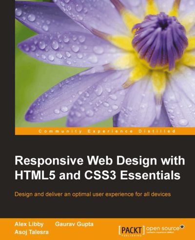 Preview for Responsive Web Design with HTML5 and CSS3 Essentials