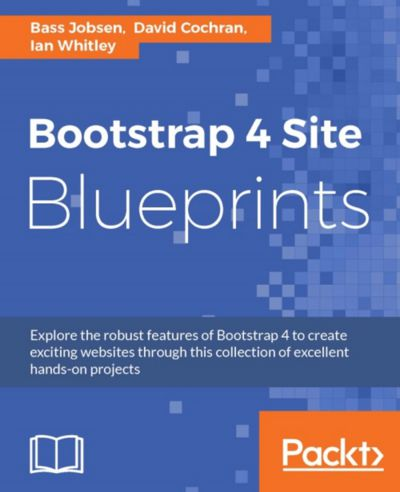 Preview for Bootstrap 4 Site Blueprints