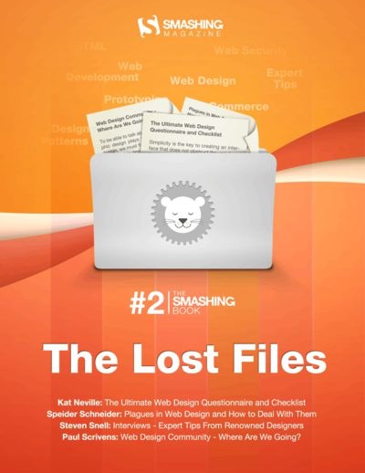 Preview for The Smashing Book #2: The Lost Files