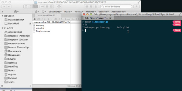 Creating the Program File in Terminal
