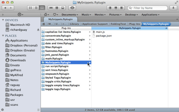Plug-Ins Folder