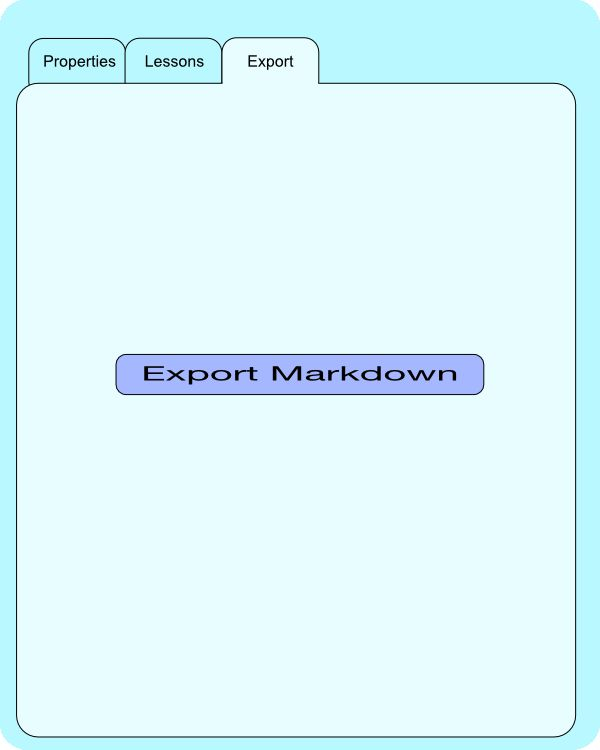Course Export Form