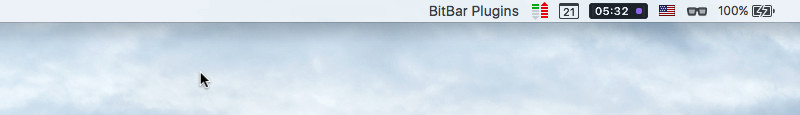 BitBar Installer Menu