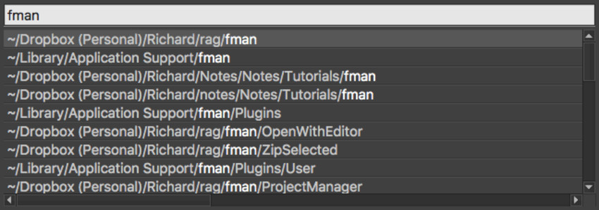 fman: The Extendable File Manager for Any System