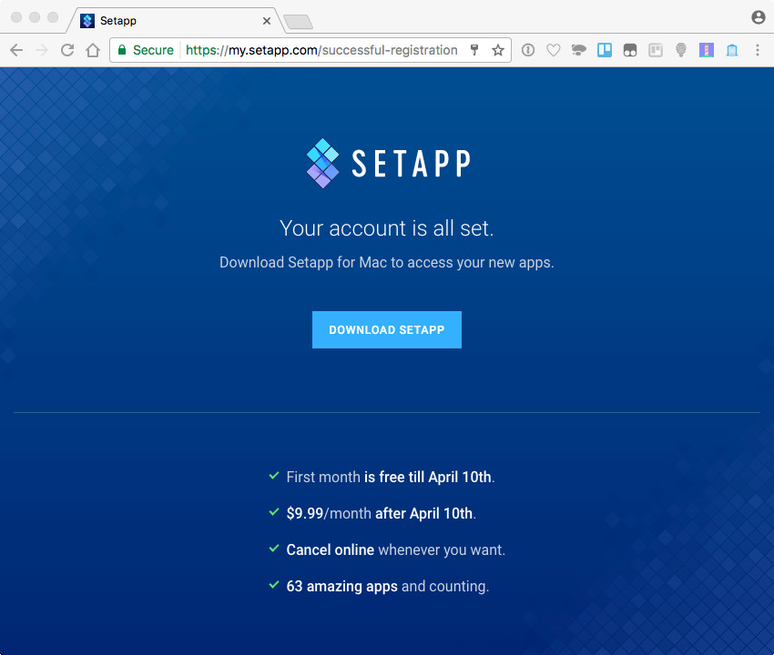 Setapp: The New Way to Get Applications on a Mac