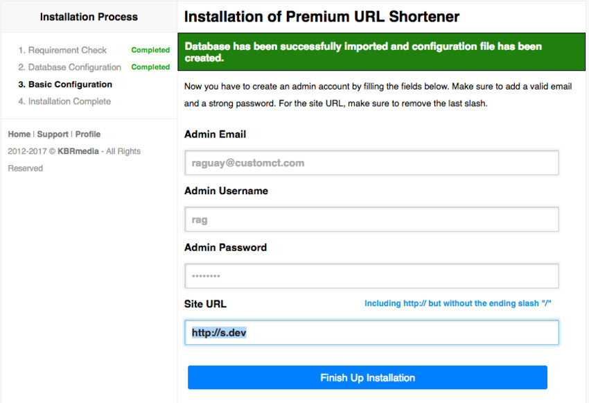 How to Create Your Own Local Premium URL Shortener Service